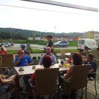Photo taken at Cafe Burger by Thomas E. on 7/5/2012