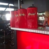 Photo taken at Jazzbah by luke d. on 3/28/2012
