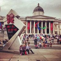 Photo taken at London 2012 OMEGA Countdown Clock by Stanislav B. on 8/26/2012