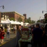 Photo taken at Milton Farmer's Market by colin c. on 8/25/2012