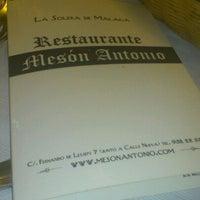 Foto tomada en Mesón Antonio por Lna G. el 8/18/2012
