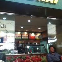 Photo taken at Subway by Venkatesh A. on 7/1/2012