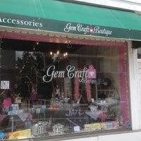 Photo taken at Gem Craft Boutique by Deborah O. on 7/6/2012