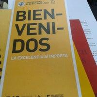 Photo taken at Universidad Alberto Hurtado by Denisse L. on 3/5/2012