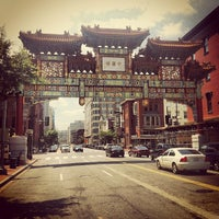 Photo taken at Chinatown Friendship Archway by Toby O. on 6/10/2012