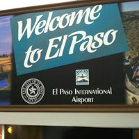 Photo taken at El Paso International Airport (ELP) by Ricky B. on 6/11/2012