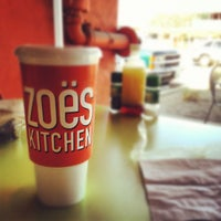 Photo taken at Zoës Kitchen by CJ M. on 2/20/2012