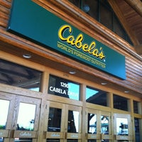 Photo taken at Cabela's by Jeff S. on 4/21/2012