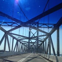 Photo taken at Chesapeake Bay Bridge by Ben G. on 6/24/2012