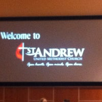 Photo taken at St. Andrew United Methodist Church by Brian H. on 6/10/2012