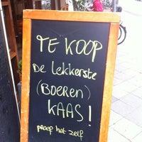 Photo taken at Hooft Kaas, Wijn & Delicatessen by Philippa W. on 7/28/2012