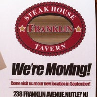 Photo taken at Franklin Steakhouse & Tavern by Mark Y. on 7/21/2012