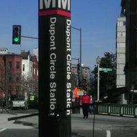 Photo taken at Dupont Circle Metro Station by Vaughn M. on 3/7/2012