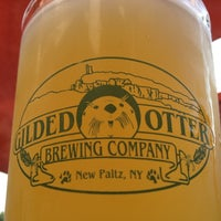 Photo taken at Gilded Otter Brewing Company by Sy K. on 8/16/2012