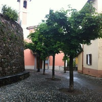 Photo taken at Piazza San Rocch by Chris T. on 5/6/2012