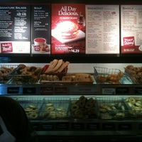 Photo taken at Bruegger's by Brad A. on 4/29/2012