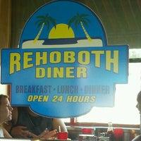 Photo taken at Rehoboth Diner by Bobbi C. on 8/13/2012