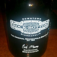 Photo taken at Rock Bottom Restaurant & Brewery by Ben G. on 2/5/2012