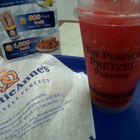 Photo taken at Auntie Anne's by Guide k. on 3/9/2012