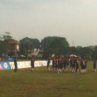 Photo taken at Padang Bola Sepak RRI by Hani M. on 7/1/2012