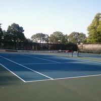 Photo taken at McKinley Tennis by Babs on 9/4/2012