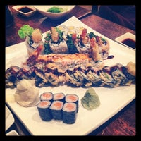 Photo taken at River Japanese Cuisine by Stephanie C. on 4/28/2012