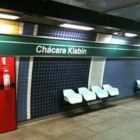 Foto tirada no(a) Estação Chácara Klabin (Metrô) por Hugo F. em 3/2/2012