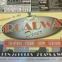 Photo taken at Broadway Diner by Adam M. on 3/10/2012