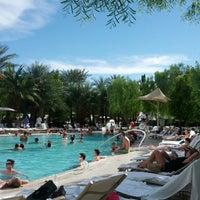 Photo taken at ARIA Pool & Cabanas by Jennifer K. on 7/29/2012