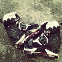 Photo taken at Skate Park by Razvan M. on 4/20/2012