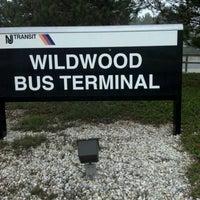 Photo taken at Wildwood bus terminal by Daryl J. on 3/16/2012
