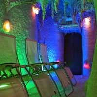 Photo taken at Galos Cave Spa by Taylor M. on 3/8/2012