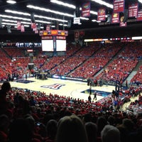 Photo taken at McKale Center by Patrick E. on 2/25/2012