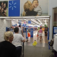 Photo taken at Walmart Supercenter by Katie F. on 7/21/2012