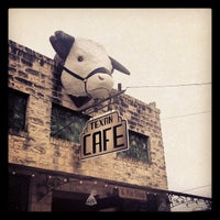 Photo taken at Texan Cafe & Pie Shop by Ashley B. on 7/1/2012