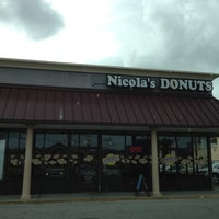 Photo taken at Nicola's Donuts by Anthony A. on 2/16/2012