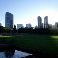 Photo taken at Bellevue Downtown Park by Samson N. on 8/4/2012