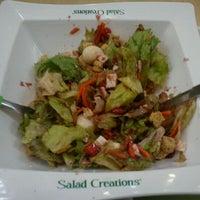 Photo taken at Salad Creations by Janaina 🍀 S. on 3/15/2012