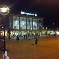 Photo taken at Dortmund Hauptbahnhof by Marco on 9/4/2012