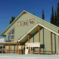 Photo taken at CSPS Ski Patrol Big White by Hans L. on 4/8/2012