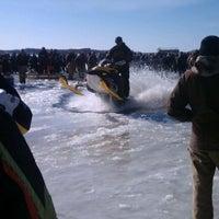 Photo taken at Pickerel lake by Jessica C. on 2/13/2012