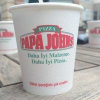 Photo taken at Papa John's Pizza by Mert I. on 6/27/2012