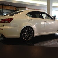 Photo taken at Lexus of Manhattan by Simon L. on 8/29/2012