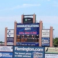 Photo taken at Somerset Patriots Baseball @ TD Bank Ballpark by Natalie S. on 7/27/2012