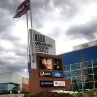 Photo taken at Greensboro Coliseum Complex by Greensboro, NC (@greensboro_nc) on 5/18/2012