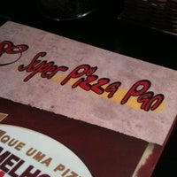 Photo taken at Super Pizza Pan by Felipe Pedrella C. on 3/24/2012