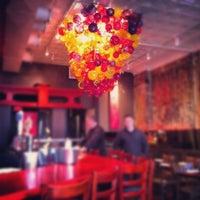 Photo taken at Bushido Sushi & Bar by Kyle W. on 3/15/2012
