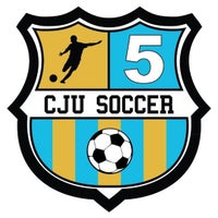 Photo taken at CJU Soccer 5 by Cristian S. on 8/22/2012
