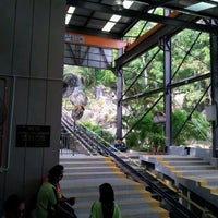 Photo taken at Penang Hill Railway Lower Station by Shahril K. on 2/10/2012