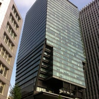 Photo taken at Tokyo Sankei Building by Kanesue on 4/30/2012